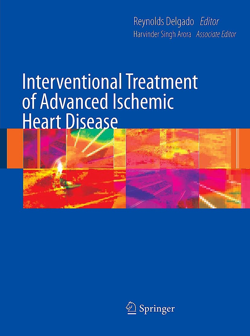 Portada del libro 9781848003941 Interventional Treatment of Advanced Ischemic Heart Disease