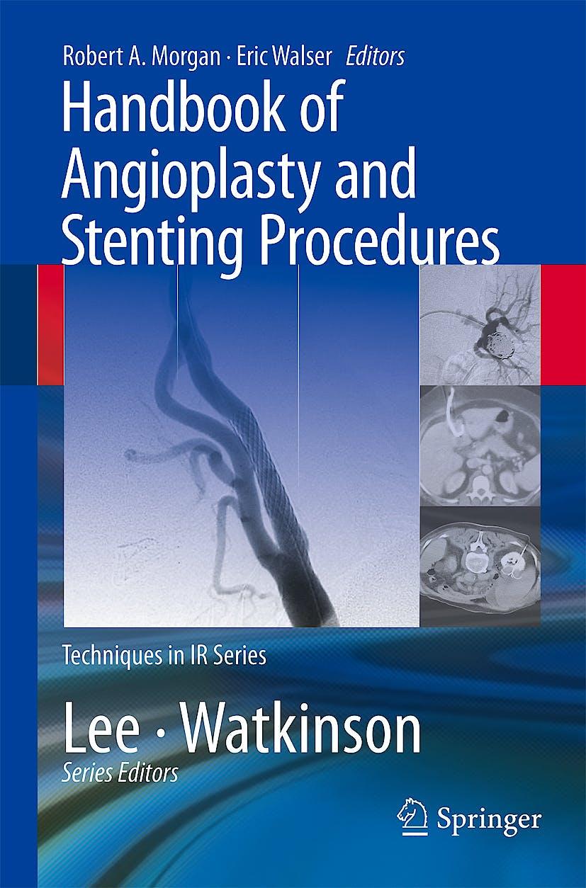 Portada del libro 9781848003989 Handbook of Angioplasty and Stenting Procedures