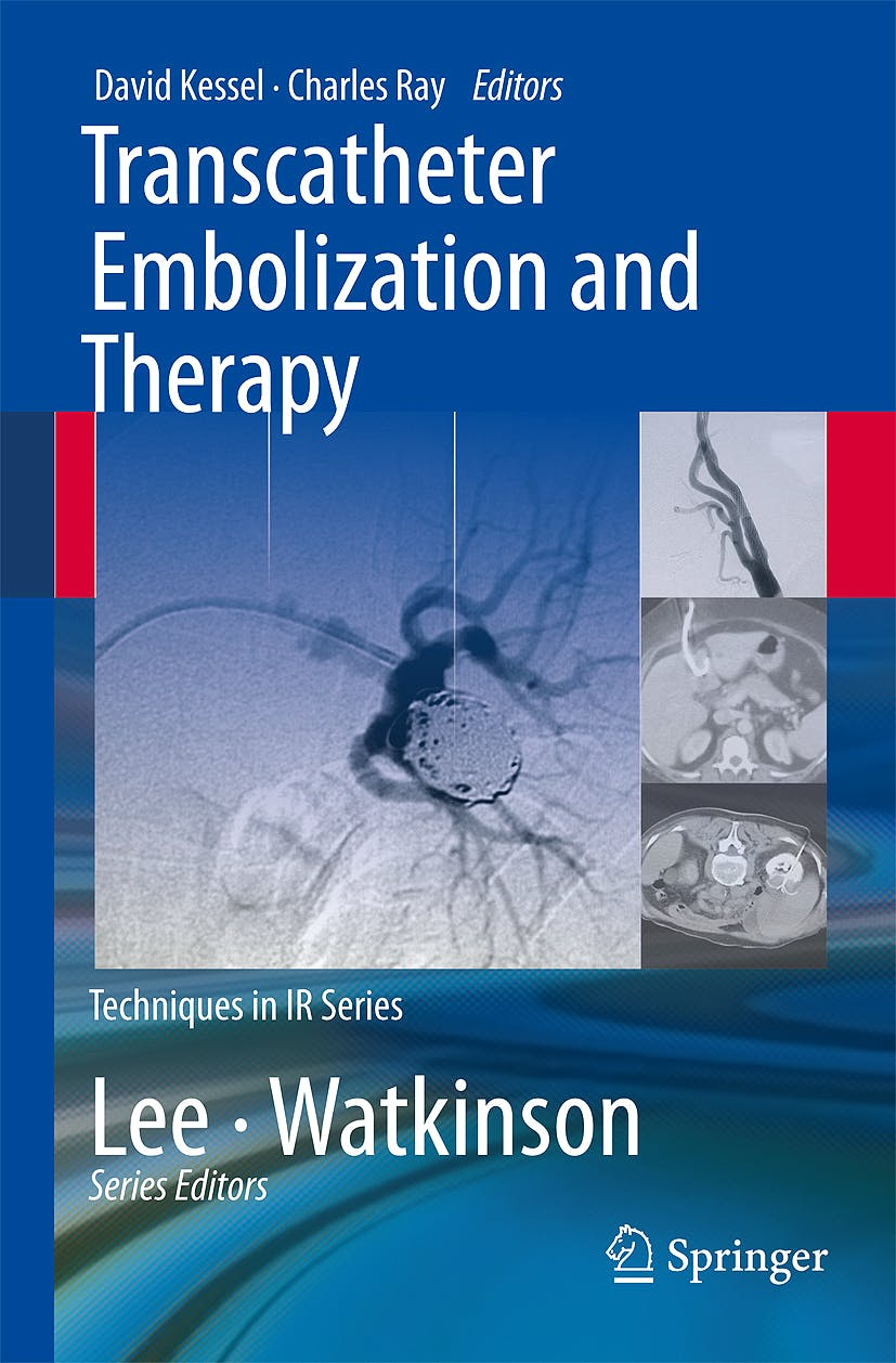 Portada del libro 9781848008960 Transcatheter Embolization and Therapy (Techniques in Ir Series)