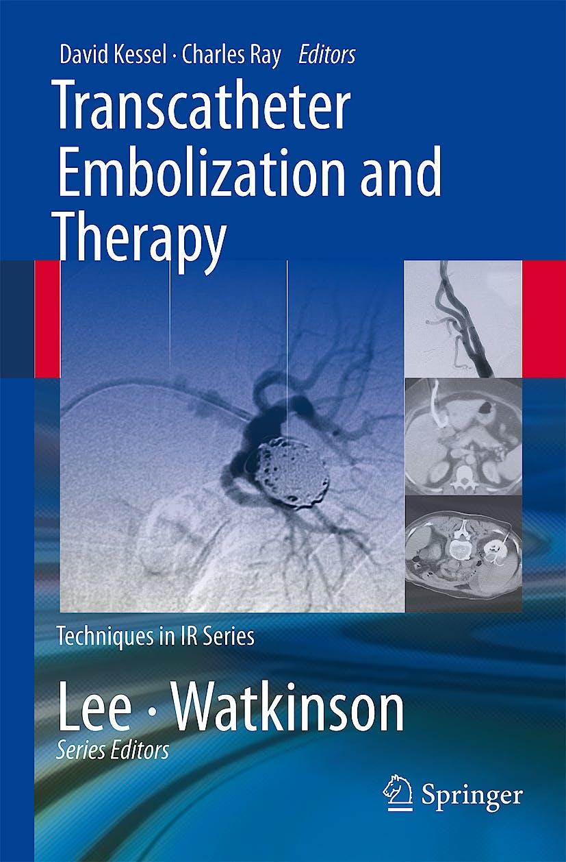 Portada del libro 9781848008960 Transcatheter Embolization and Therapy (Techniques in IR Series)