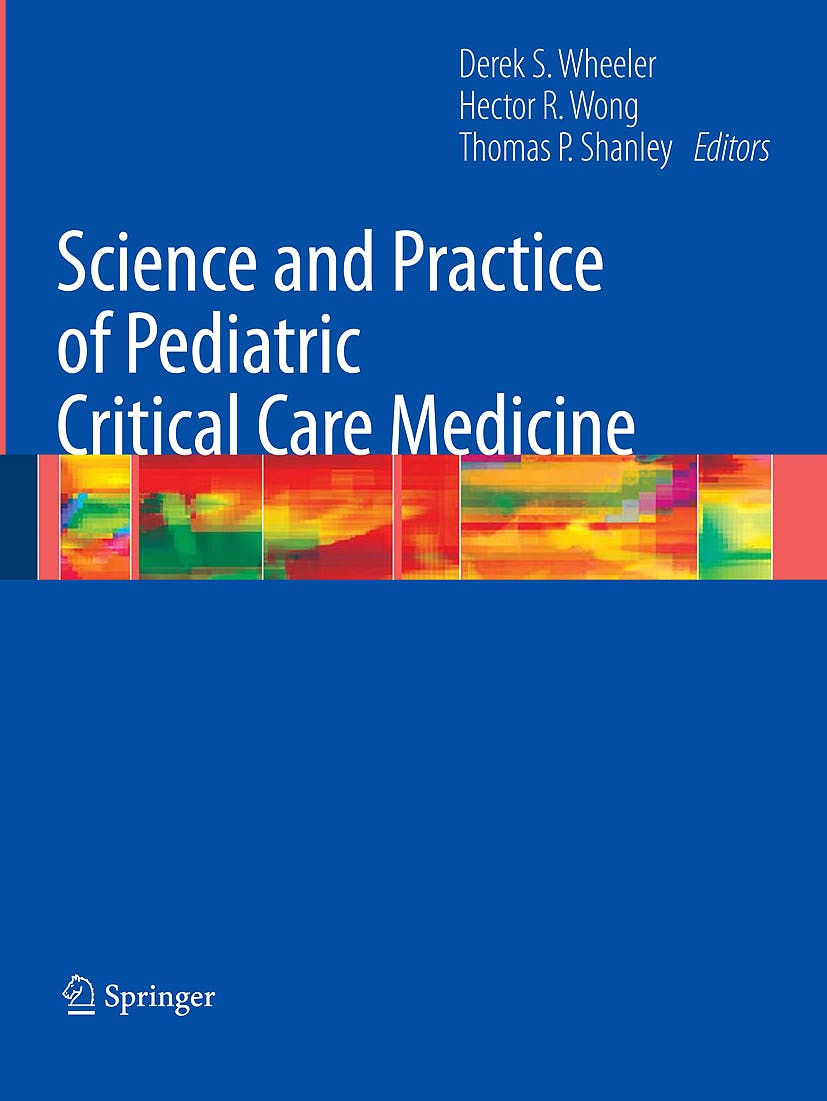 Portada del libro 9781848009202 Science and Practice of Pediatric Critical Care Medicine