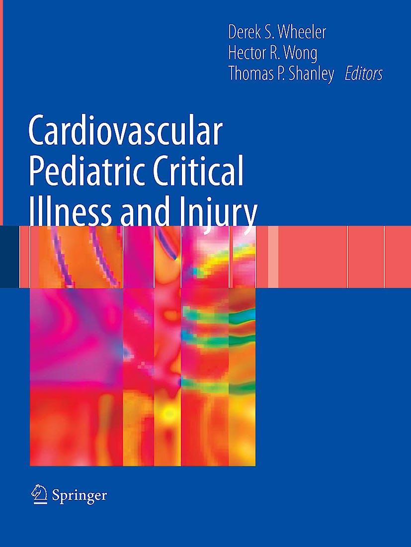 Portada del libro 9781848009226 Cardiovascular Pediatric Critical Illness and Injury