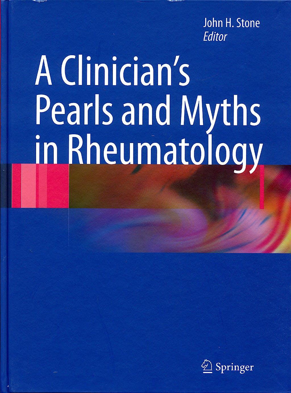 Portada del libro 9781848009332 A Clinician's Pearls & Myths in Rheumatology