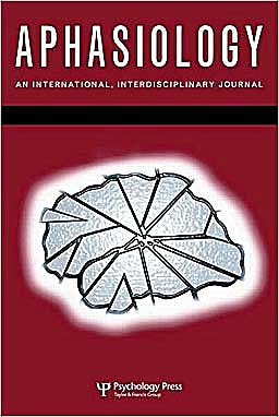 Portada del libro 9781848727380 39th Clinical Aphasiology Conference: A Special Issue of Aphasiology