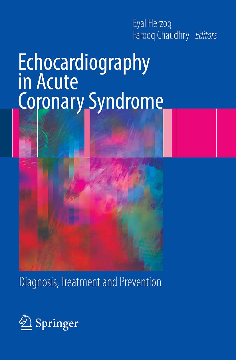 Portada del libro 9781848820265 Echocardiography in Acute Coronary Syndrome