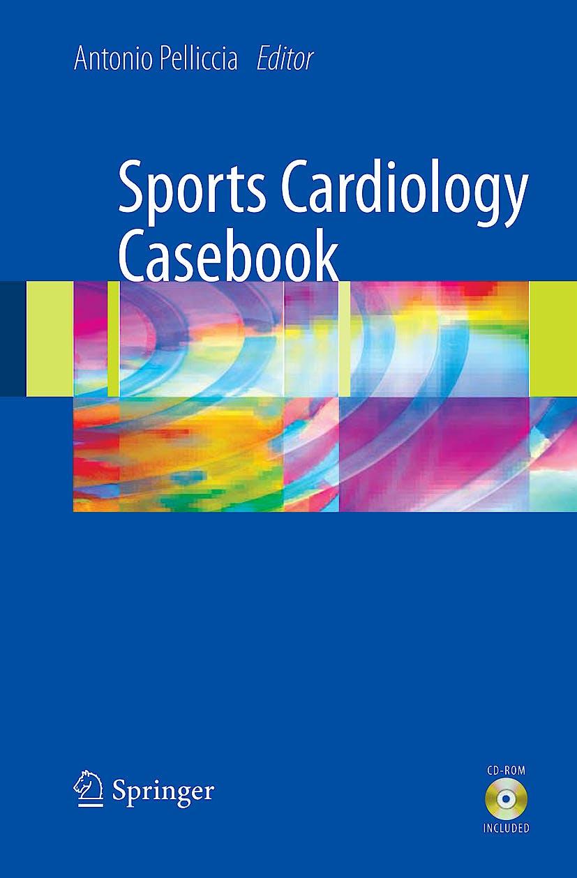 Portada del libro 9781848820418 Sports Cardiology Casebook + Cd-Rom