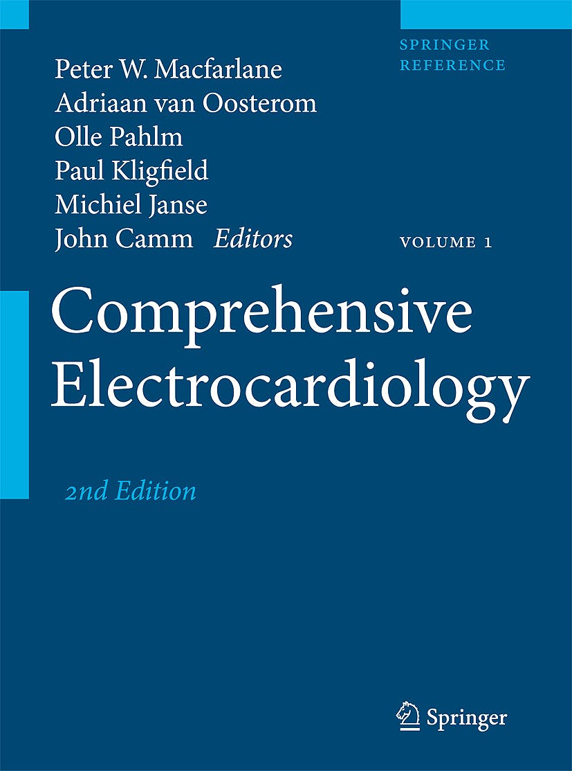 Portada del libro 9781848820456 Comprehensive Electrocardiology, 3 Vols.