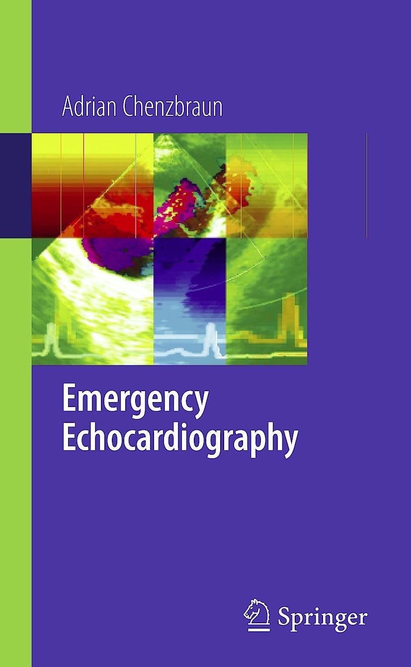 Portada del libro 9781848823358 Emergency Echocardiography