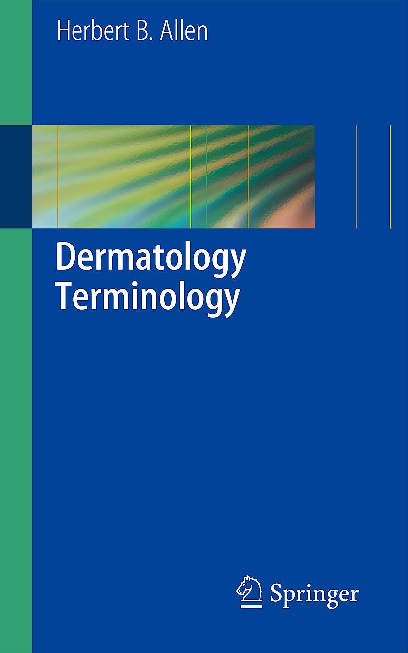 Portada del libro 9781848828391 Dermatology Terminology