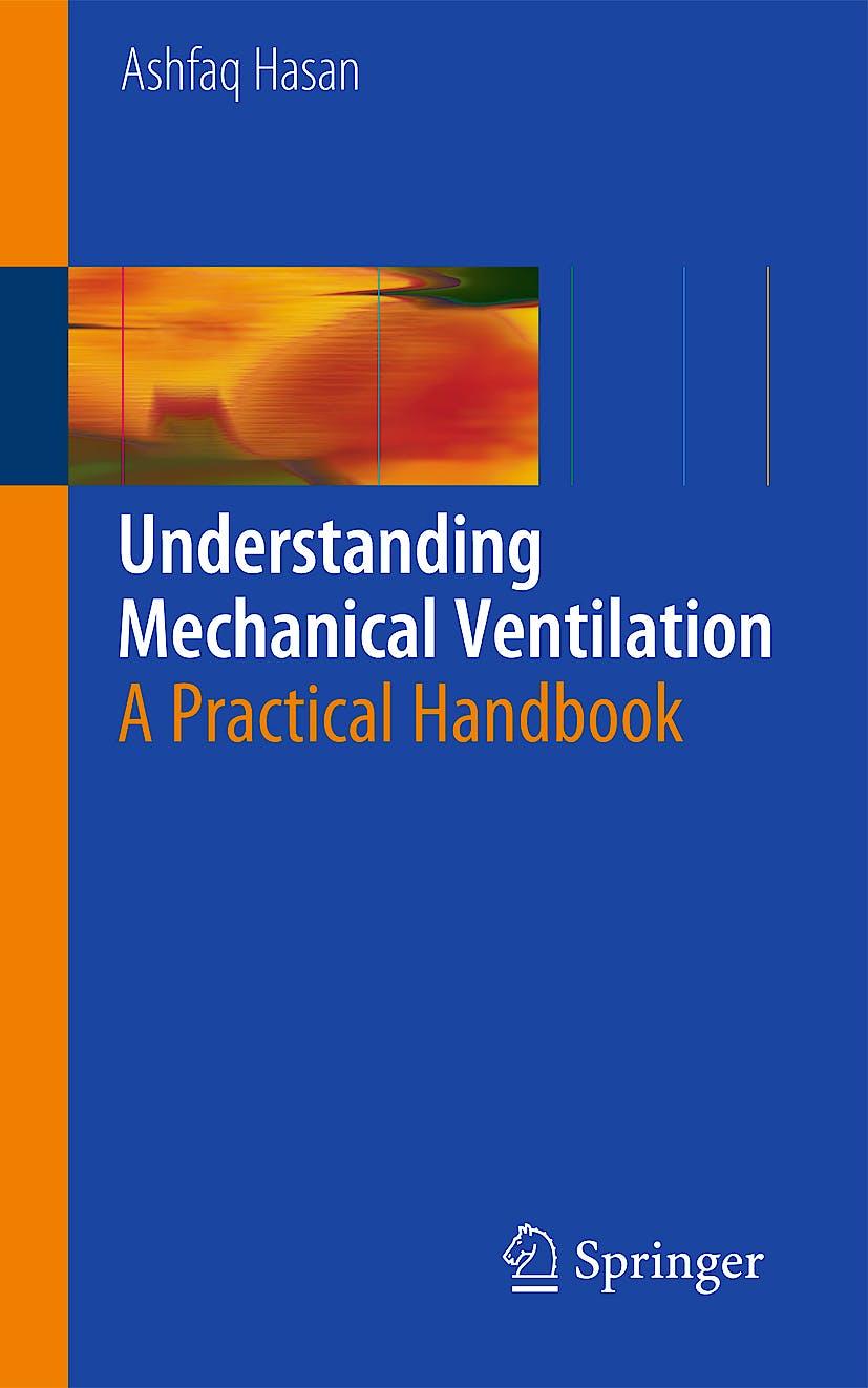 Portada del libro 9781848828681 Understanding Mechanical Ventilation. a Practical Handbook