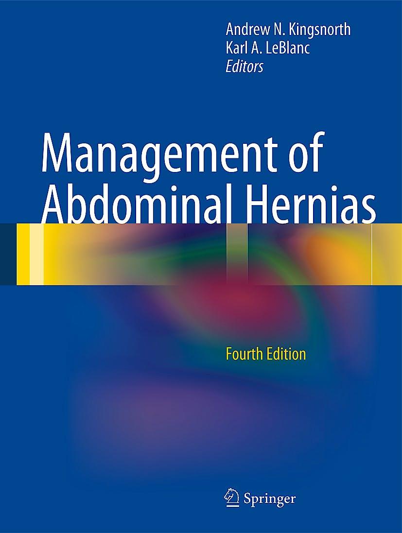 Portada del libro 9781848828766 Management of Abdominal Hernias