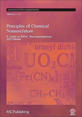 Portada del libro 9781849730075 Principles of Chemical Nomenclature. a Guide to Iupac Recommendations, 2011 Edition
