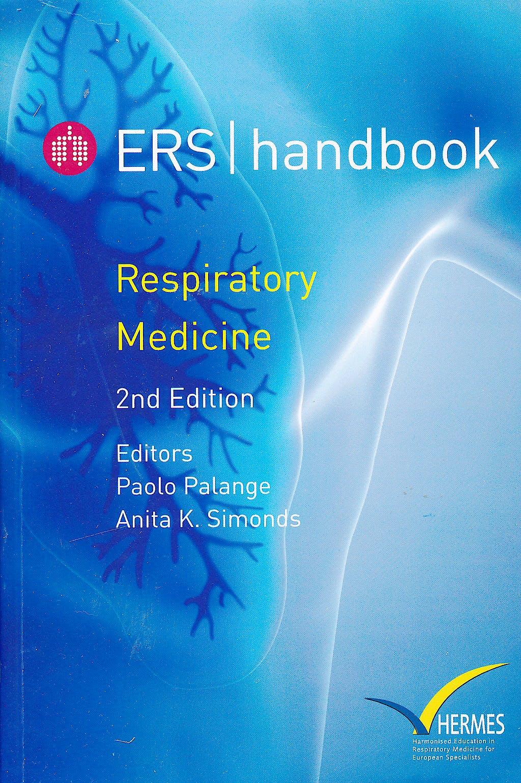 Portada del libro 9781849840408 ERS Handbook. Respiratory Medicine