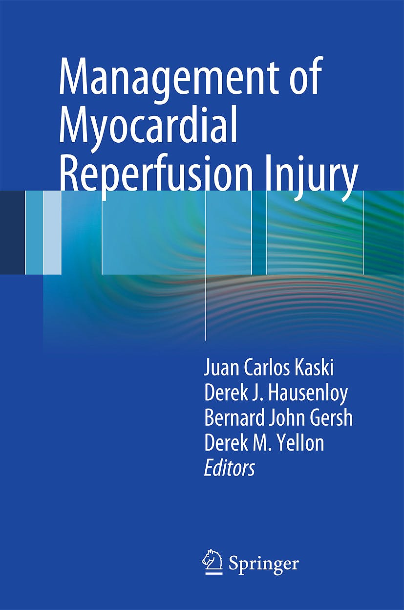 Portada del libro 9781849960182 Management of Myocardial Reperfusion Injury