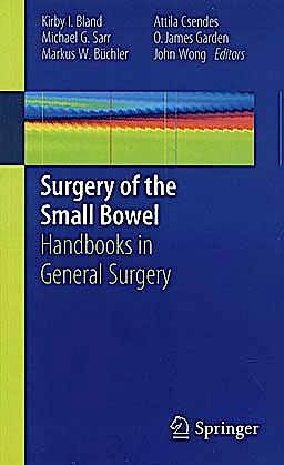 Portada del libro 9781849963718 Surgery of the Small Bowel. Handbooks in General Surgery