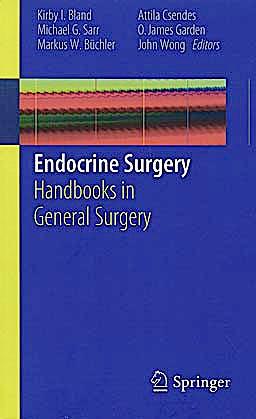 Portada del libro 9781849964463 Endocrine Surgery. Handbooks in General Surgery