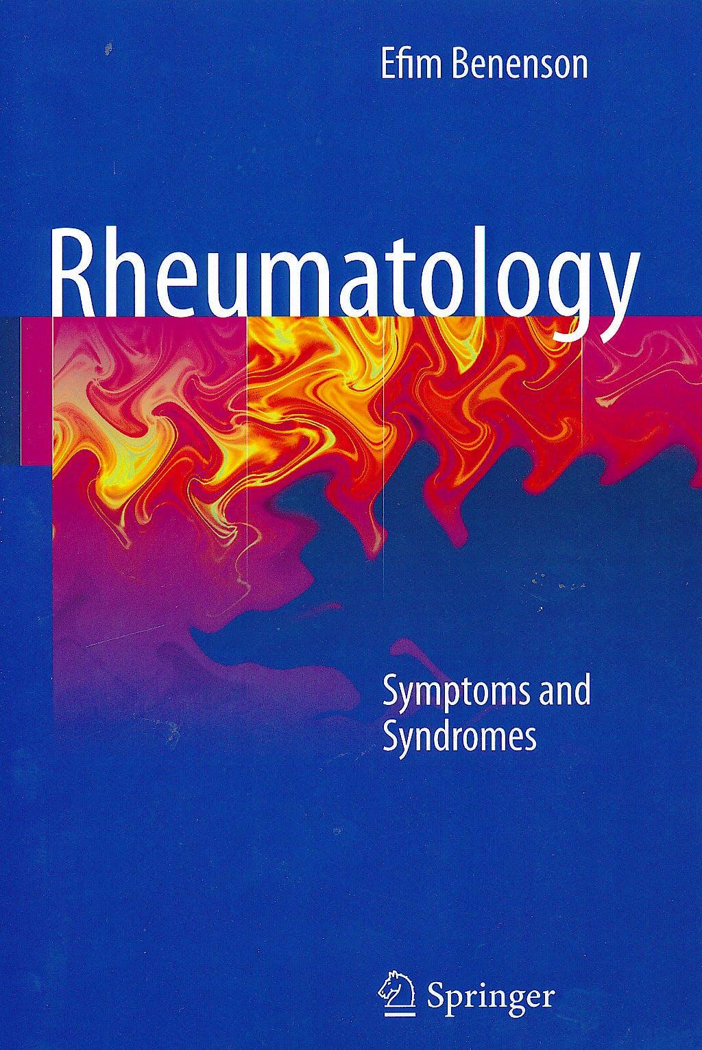 Portada del libro 9781849964616 Rheumatology. Symptoms and Syndromes