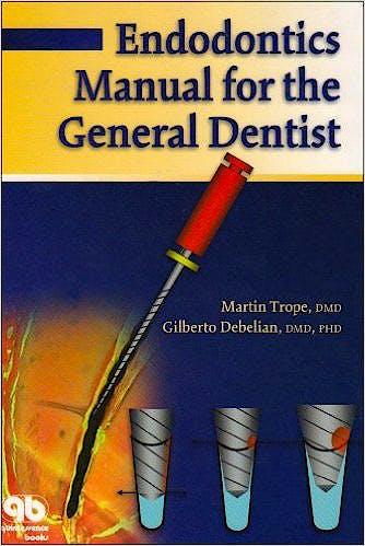 Portada del libro 9781850970897 Endodontics Manual for the General Dentist