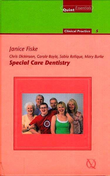 Portada del libro 9781850971344 Special Care Dentistry