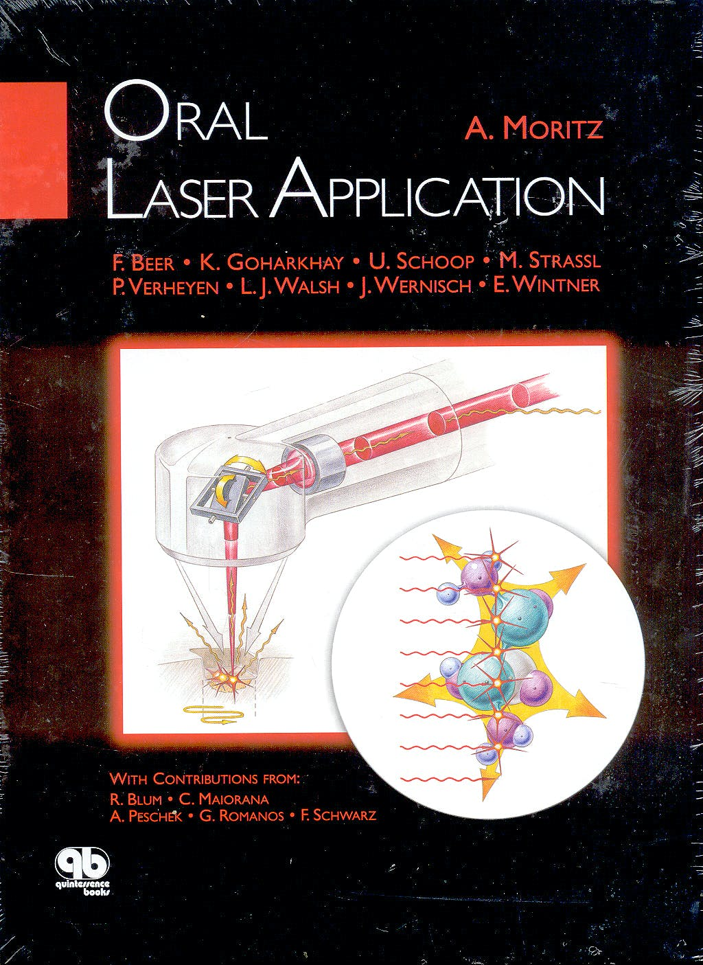 Portada del libro 9781850971504 Oral Laser Applications