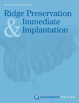 Portada del libro 9781850972167 Ridge Preservation and Immediate Implantation