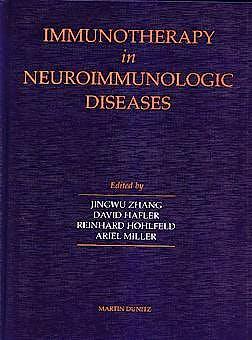 Portada del libro 9781853174742 Immunotherapy in Neuroimmunologic Diseases