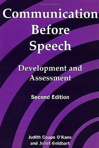 Portada del libro 9781853464867 Communication before Speech: Development and Assessment