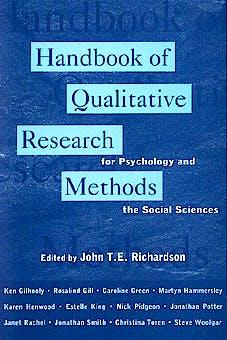 Portada del libro 9781854332042 Handbook of Qualitative Research Methods