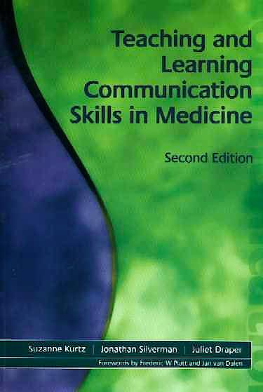 Portada del libro 9781857756586 Teaching and Learning Communication Skills in Medicine