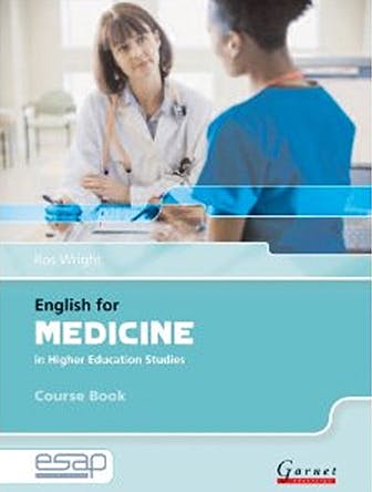 Portada del libro 9781859644423 English for Medicine in Higher Education Studies. Course Book + 2 Cds