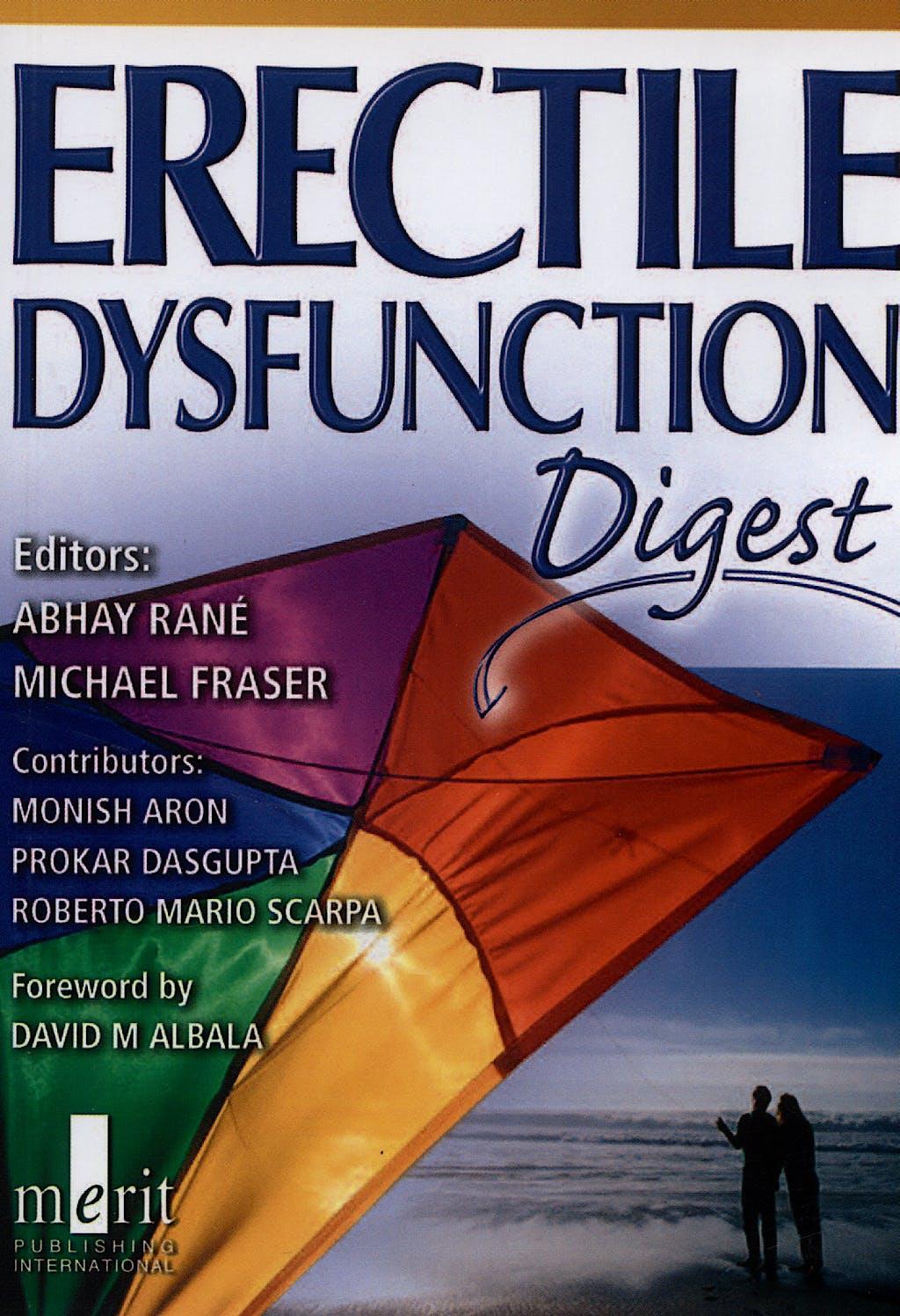 Portada del libro 9781873413692 Erectil Dysfunction Digest