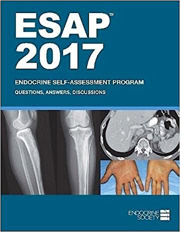 Portada del libro 9781879225312 ESAP 2017. Endocrine Self-Assessment Program. Questions, Answers, and Discussions (Online)