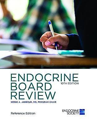 Portada del libro 9781879225510 Endocrine Board Review (Softcover, Reference Edition)