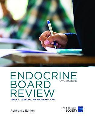 Portada del libro 9781879225527 Endocrine Board Review (Hardcover, Reference Edition)