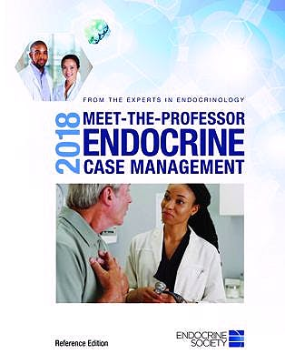 Portada del libro 9781879225534 2018 Meet-the-Professor Endocrine Case Management (Softcover, Reference Edition)