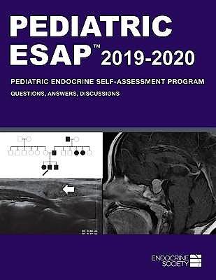 Portada del libro 9781879225596 Pediatric ESAP 2019-2020: Pediatric Endocrine Self-Assessment Program. Questions, Answers, Discussions