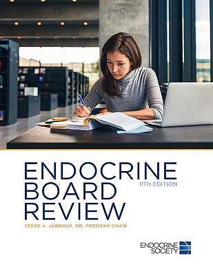 Portada del libro 9781879225619 Endocrine Board Review (Softcover)