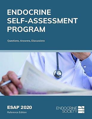 Portada del libro 9781879225718 ESAP™ 2020 Endocrine Self-Assessment Program. Questions, Answers, Discussions, Reference Edition