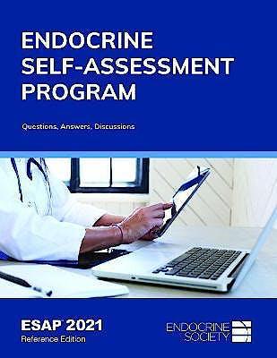 Portada del libro 9781879225947 ESAP 2021. Endocrine Self-Assessment Program. Questions, Answers, Discussions