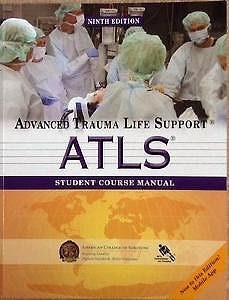 Portada del libro 9781880696026 Advanced Trauma Life Support (Atls). Student Course Manual