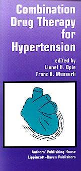 Portada del libro 9781881063056 Combination Drug Therapy for Hypertension