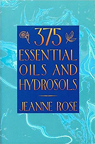 Portada del libro 9781883319892 375 Essential Oils and Hydrosols