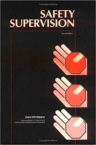Portada del libro 9781885581228 Safety Supervision