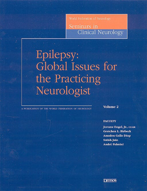 Portada del libro 9781888799880 Epilepsy: Global Issues for the Practicing Neurologist
