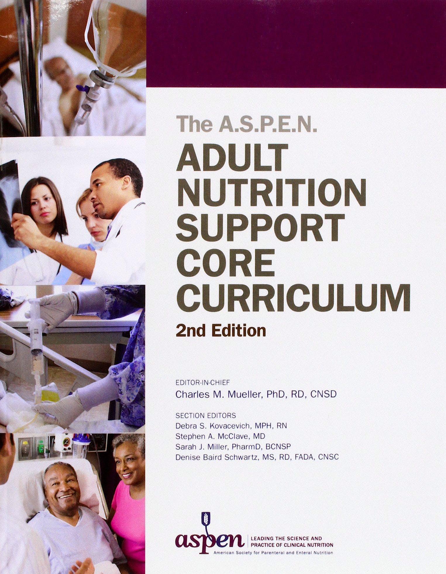 Portada del libro 9781889622071 The ASPEN Adult Nutricion Support Core Curriculum