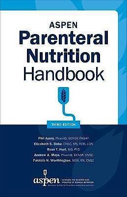Portada del libro 9781889622415 ASPEN Parenteral Nutrition Handbook