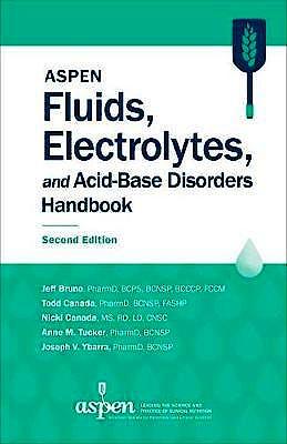 Portada del libro 9781889622439 ASPEN Fluids, Electrolytes, and Acid-Base Disorders Handbook