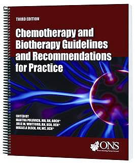 Portada del libro 9781890504786 Chemotherapy and Biotherapy Guidelines and Recommendations for Practice