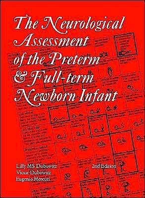 Portada del libro 9781898683155 Neurological Assessment of the Preterm and Fullterm Newborn Infant