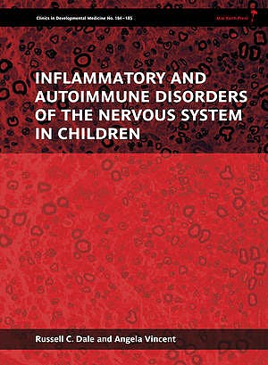 Portada del libro 9781898683667 Inflammatory and Autoimmune Disorders of the Nervous System in Children
